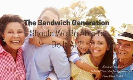The Sandwich Generation: Should We Be Able to Do It All?