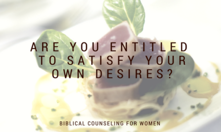Are You Entitled to Satisfy Your Desires?