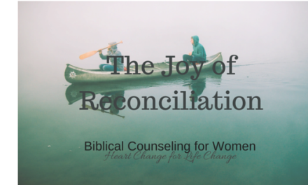 The Joy of Reconciliation