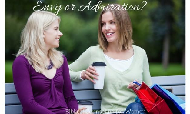 Envy or Admiration?
