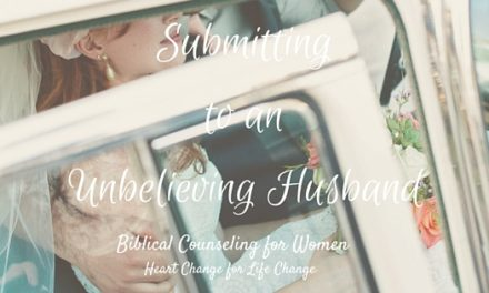 Submitting To An Unbelieving Husband