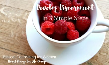 Develop Discernment in Three Simple Steps