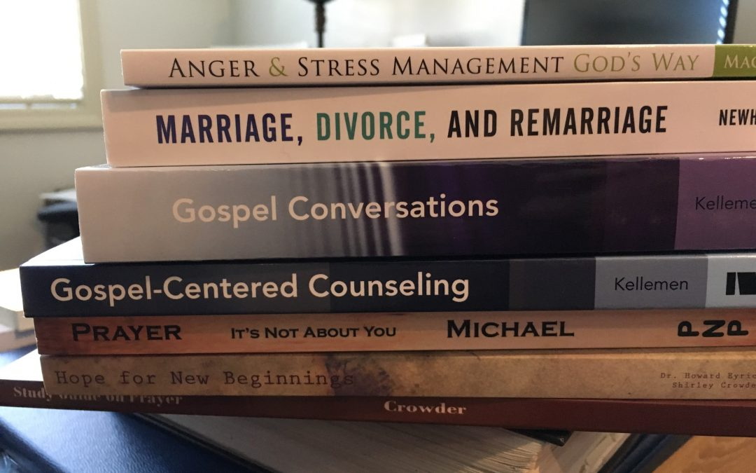 Register for On-Campus Training and Pay in Full by 1/10 & Be Entered to Win this Biblical Counseling Book Collection